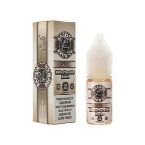 Barista Brew Co Salts - White Chocolate Mocha (10ml)