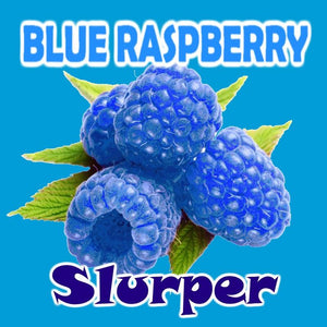 Blue Raspberry Slurper - 100ml bottle of e liquid made in the UK