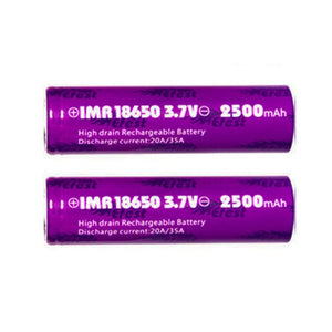 Efest 18650 Battery 2500mAh (35A, Flat Top)