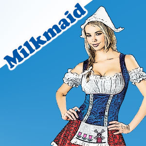 Milkmaid - 100ml bottle of e liquid made in the UK
