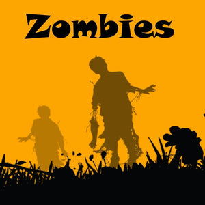 Zombies - 100ml bottle of e liquid made in the UK