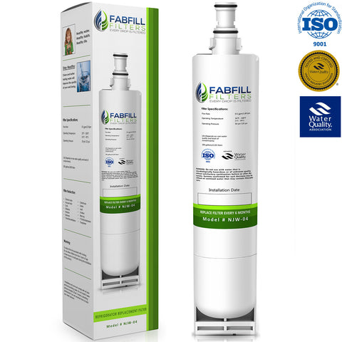 Fabfill 4396508 4396510 Refrigerator Water Filter