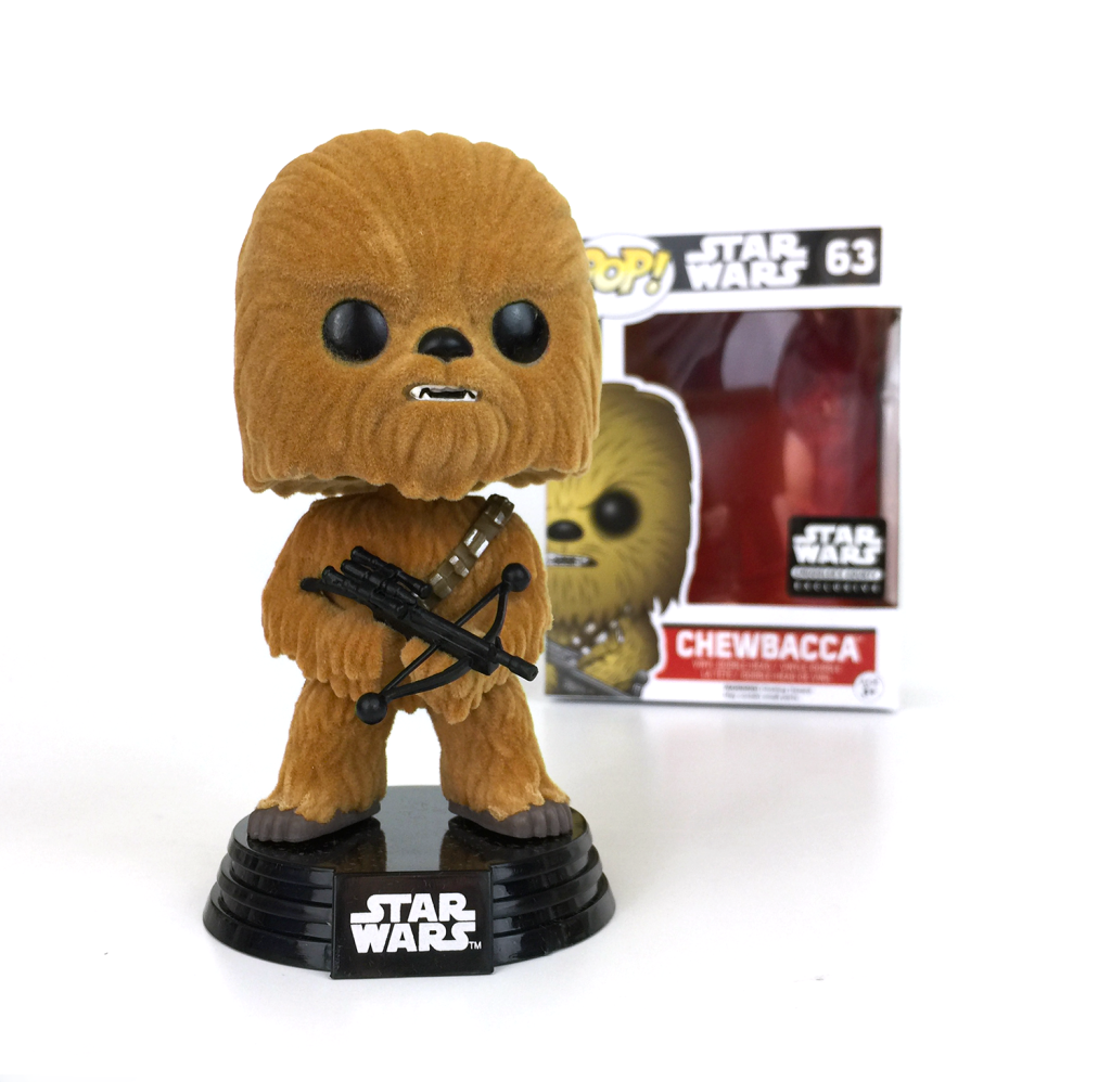 Funko POP! Star Wars - Chewbacca (63) (Flocked) - Smuggler's Bounty Exclusive