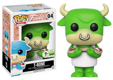 Funko POP! - Spastic Plastik - T-Bone (Green) (04) Emerald City Comic Con Exclusive