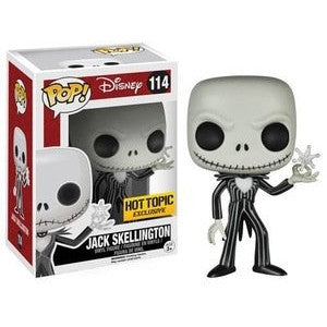 Funko POP! - Disney - Jack Skellington (Snowflake) (114) * Hot Topic Exclusive*