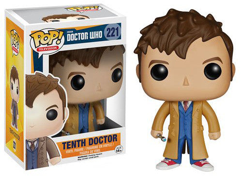 Funko POP! - Doctor Who - Tenth Doctor (221)