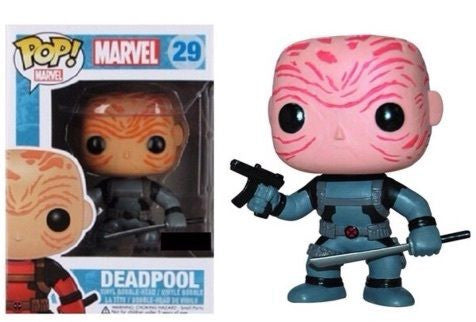 Funko POP! Marvel - Deadpool (29) X-Force Unmasked - Previews Exclusive