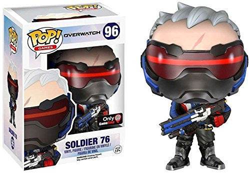 Funko POP! - Overwatch - Soldier: 76 (96) * GameStop Exclusive *