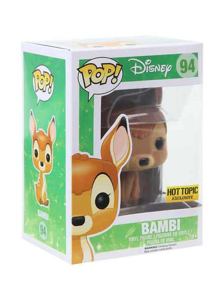 Funko POP! - Disney - Bambi (Flocked) (94) - Hot Topic Exclusive