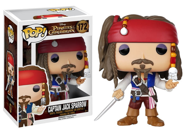 Funko Pop! - Pirates of the Caribbean - Captain Jack Sparrow (172)