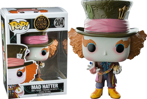 Funko POP! - Alice Through the Looking Glass - Mad Hatter (204) *Hot Topic Exclusive*