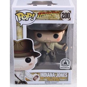 Funko POP! Indiana Jones Adventure - Indiana Jones (200) *Disney Park Exclusive*