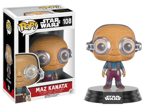 Funko POP! Star Wars - Maz Kanata (108)