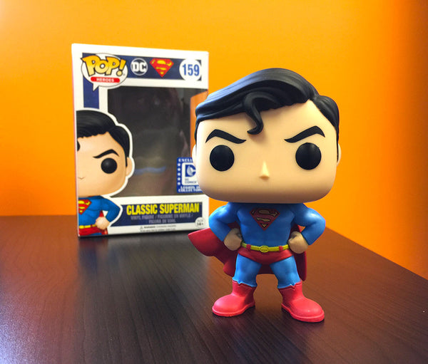 Funko POP! DC - Classic Superman (159) DC Legion of Collectors Exclusive