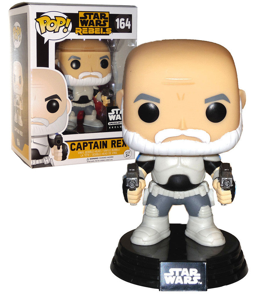 Funko POP! Star Wars: Rebels - Captain Rex (164) Smuggler's Bounty Exclusive