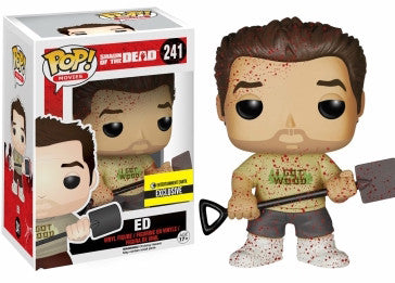 Funko POP! - Shaun of the Dead - Ed (Bloody) (241) - Entertainment Earth Exclusive