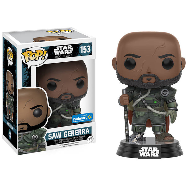 Funko POP! - Star Wars: Rogue One - Saw Gererra (153) - Wal-Mart Exclusive