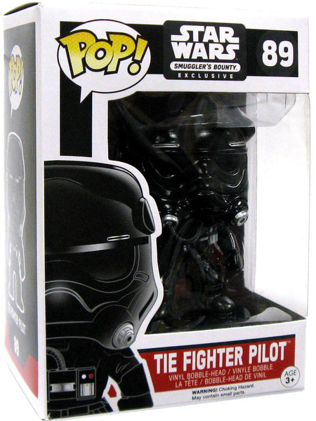 Funko POP! - Star Wars - First Order Tie Pilot (89) - Smuggler's Bounty Exclusive