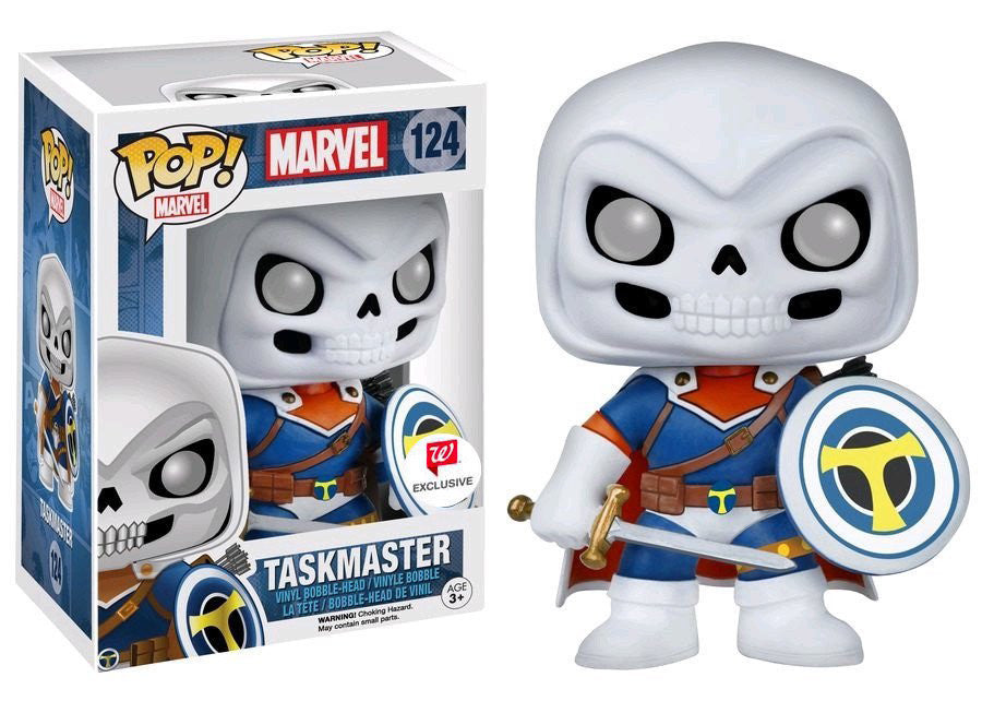 Funko POP! - Marvel Comics - Taskmaster (124) - Walgreens Exclusive