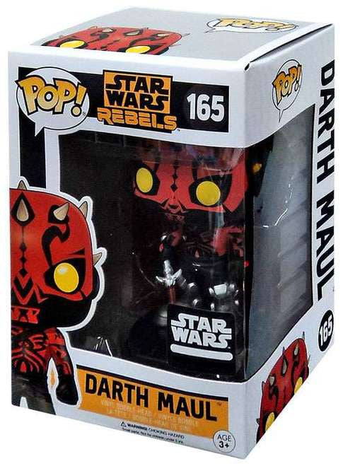 Funko POP! Star Wars: Rebels - Darth Maul (165) Smuggler's Bounty Exclusive