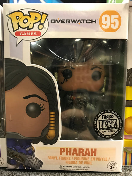 Funko POP! - Overwatch - Pharah (95) Titanium* Blizzard Exclusive *