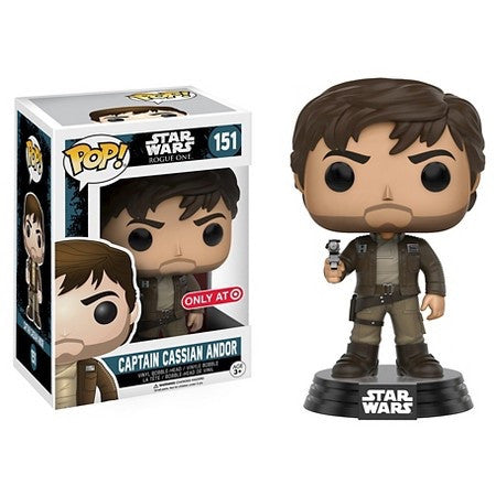 Funko POP! - Star Wars: Rogue One - Captain Cassian Andor (151) - Target Exclusive