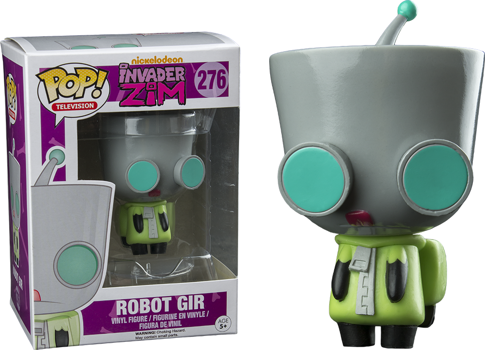 Funko POP! - Invader Zim - Robot Gir (276) - Hot Topic Exclusive
