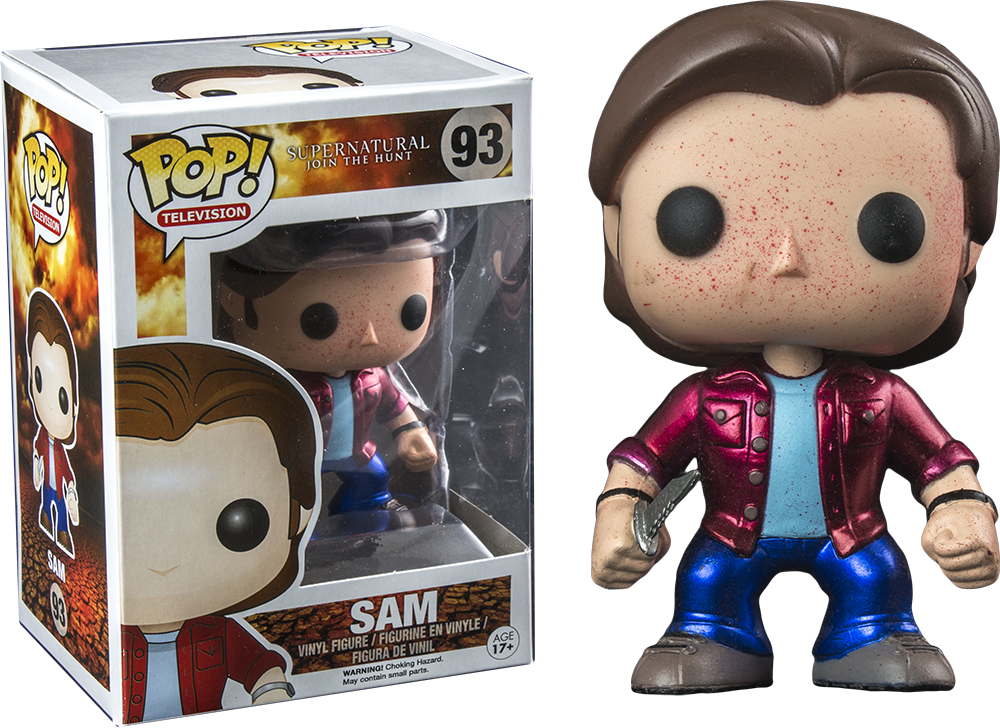 Funko POP! - Supernatural - Sam Blood Splatter Metallic (93)