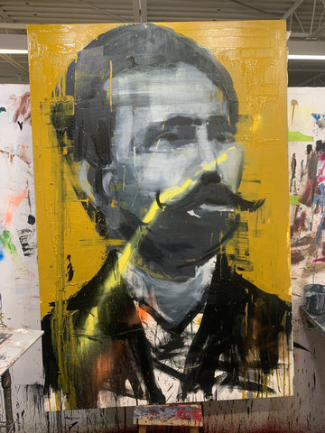 A Once Important Man With Yellow