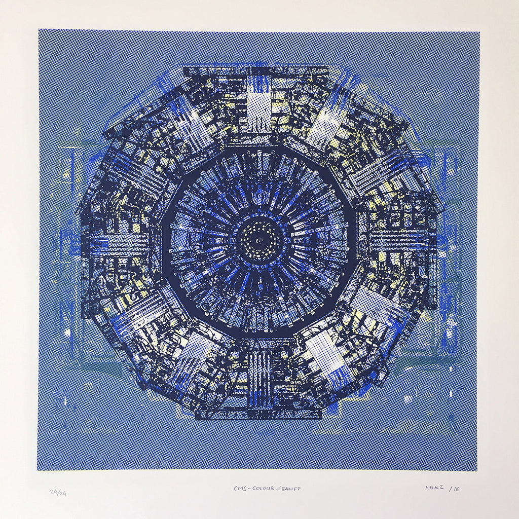 Shadow Mandalas unique  Colour Blue