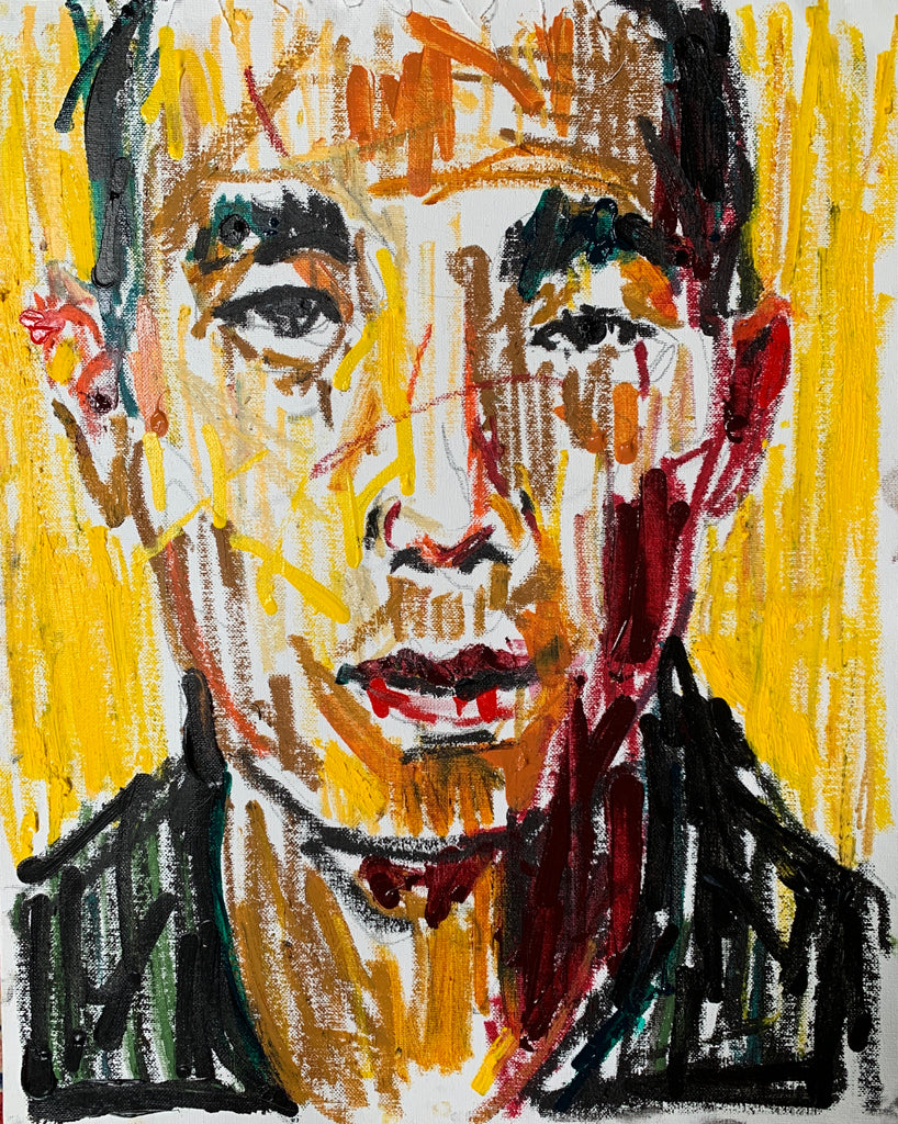 Portrait Study with Yellow