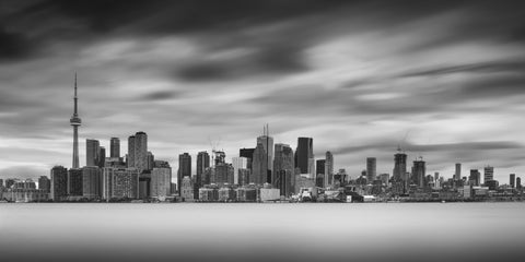 Toronto Skyline, Time Stands Still by GARY RAY RUSH