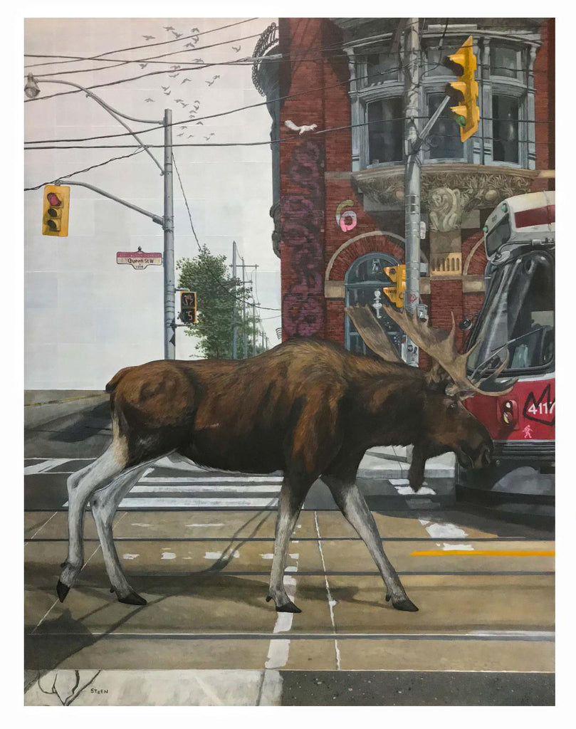 """West Queen West"" - commission"