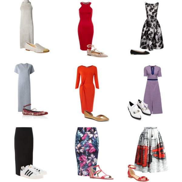 How to Get Away With Never Wearing Heels Again Pt. 3 Midi dresses and skirts