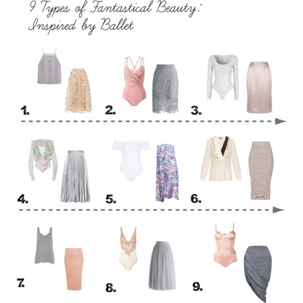 Ballet Influenced Style Challenge for the 9 Fantastical Beauty Types
