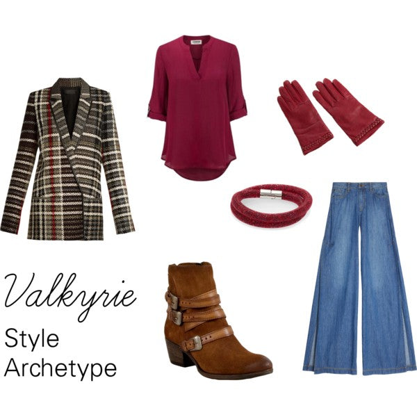 Valkyrie Style Archetype with Menswear Touches