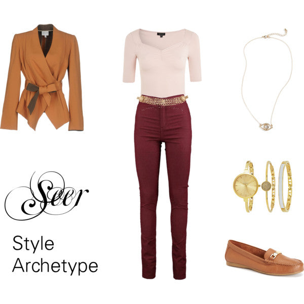 Seer Style Archetype with Menswear Touches