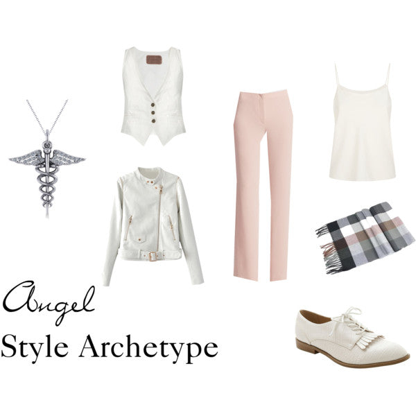 Angel Style Archetype with Menswear Touches