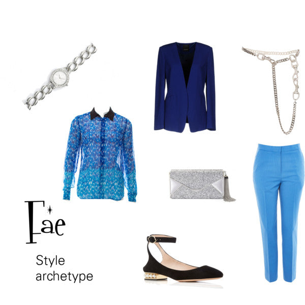 Fae Style Archetype with Menswear Touches