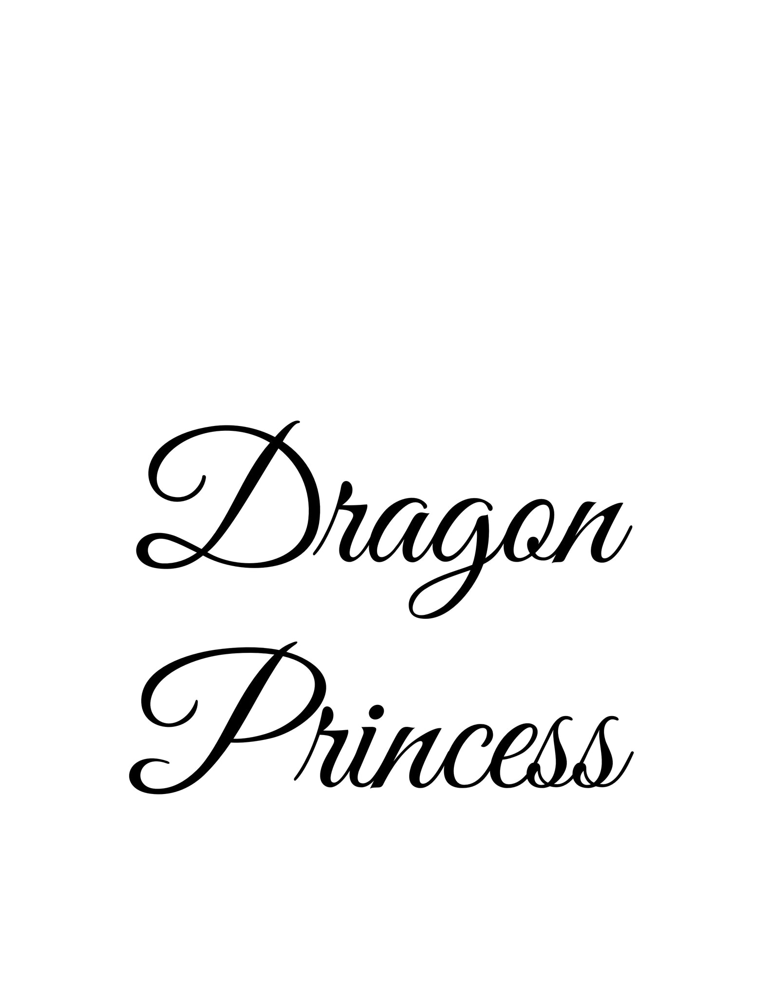 Dragon Princess (original, system approach)