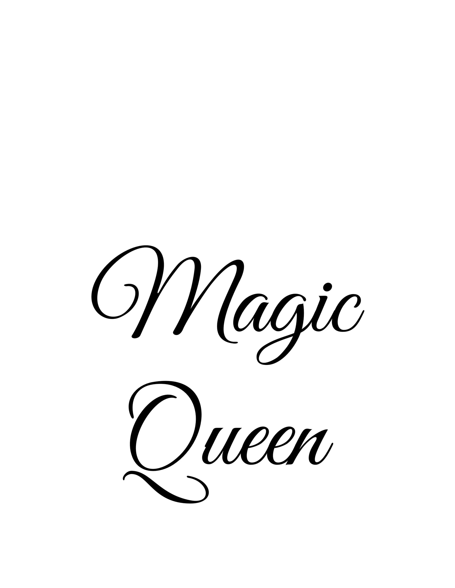 Magic Queen (original, system approach)