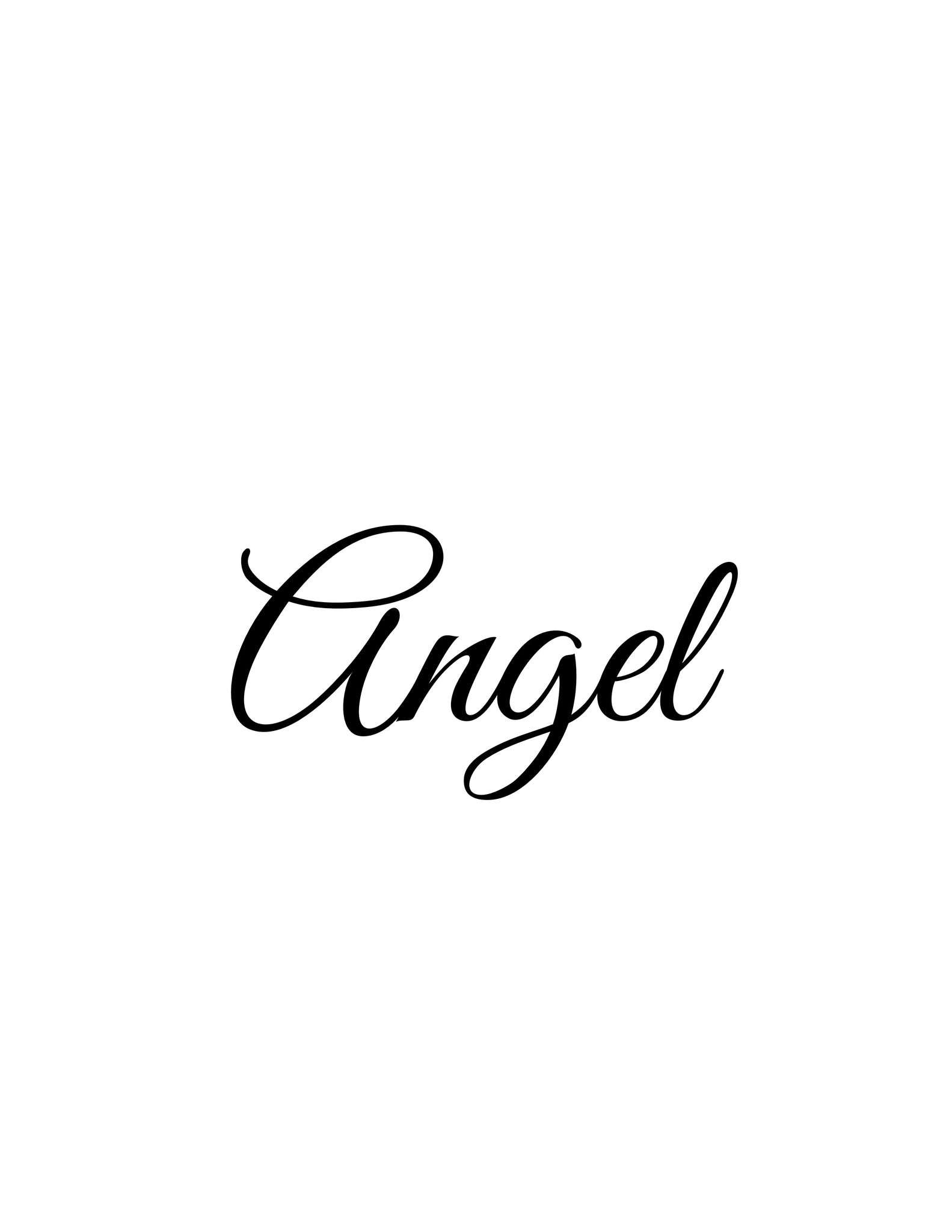 Angel (original, system approach)