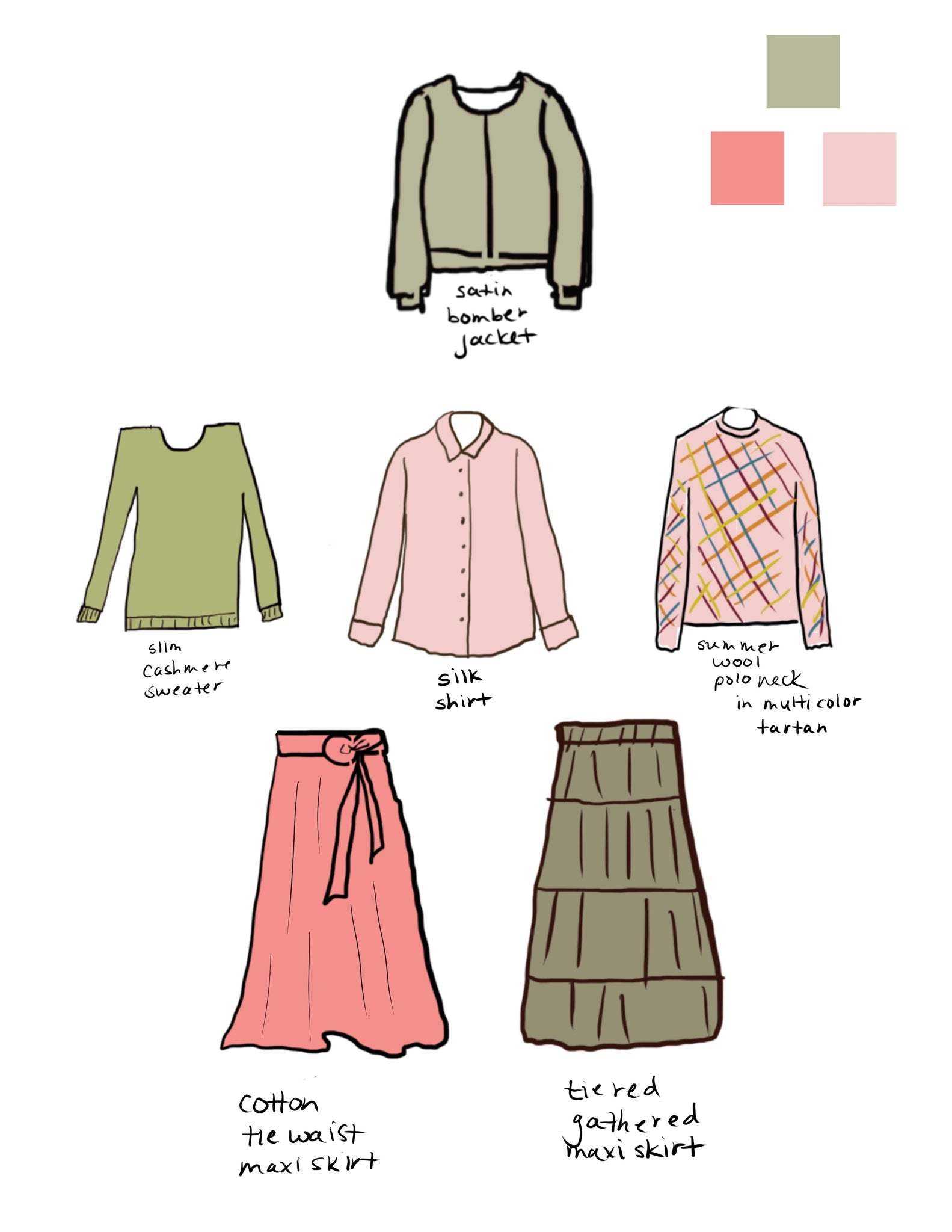 Custom Module Wardrobe Illustration