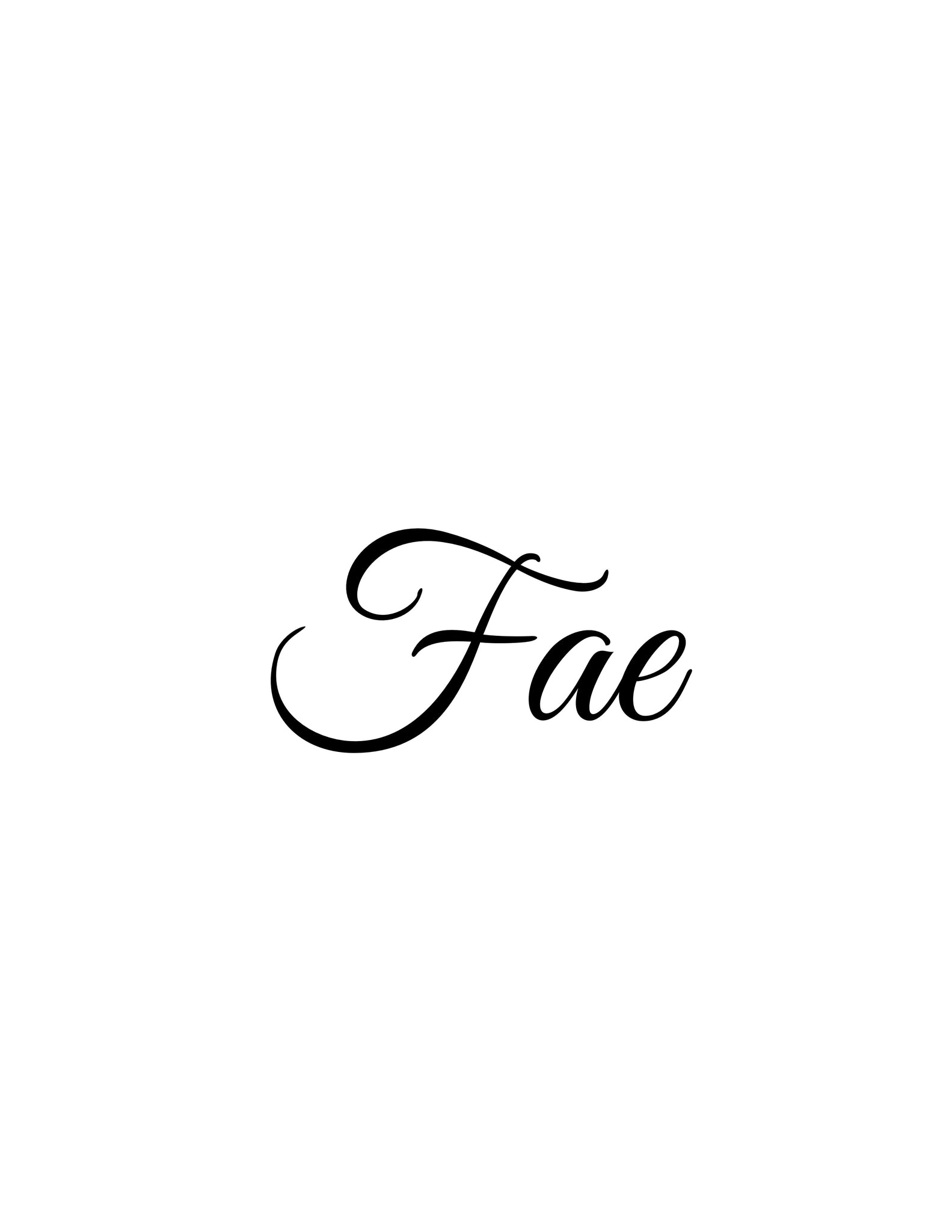 Fae (original, system approach)