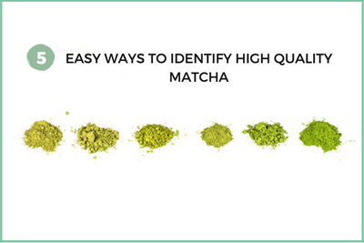 Low quality vs. high quality matcha? 5 easy ways to identify high quality matcha.