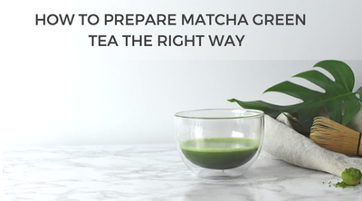How to prepare matcha green tea the right way