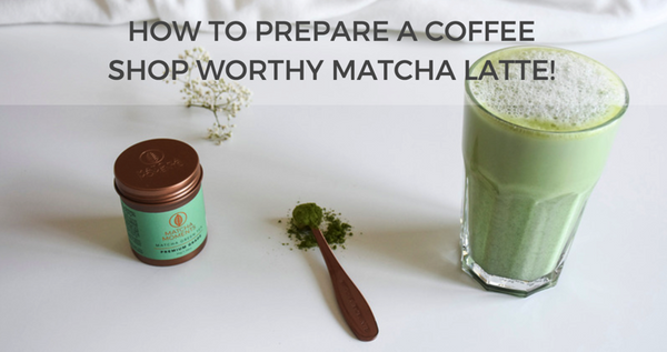 How to prepare a matcha latte