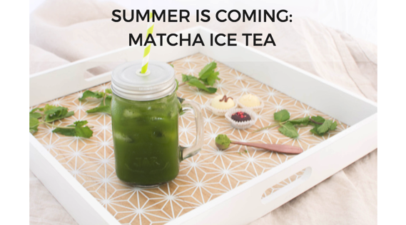Matcha Ice tea
