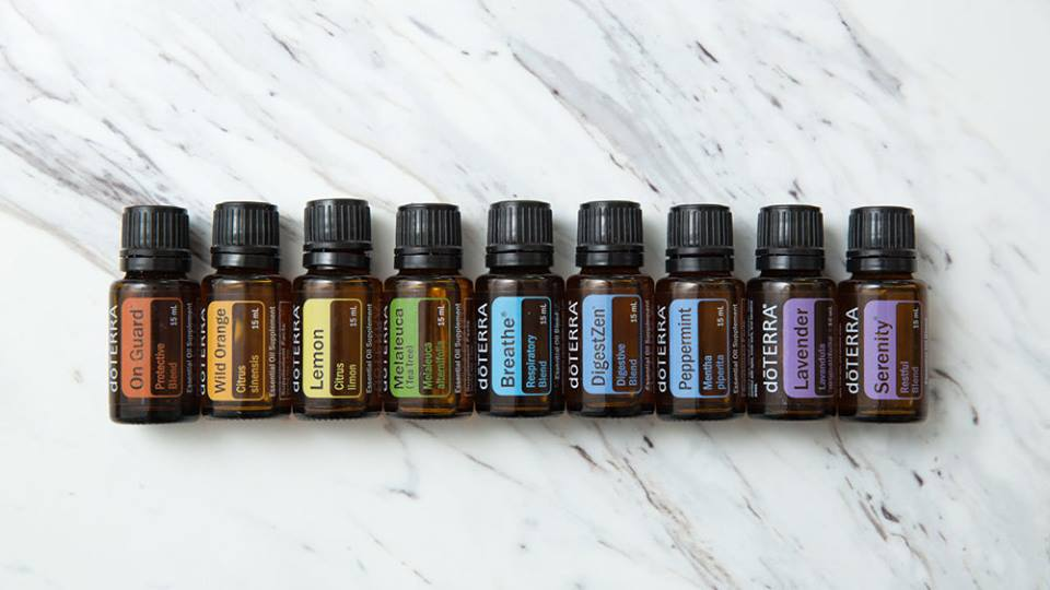 essential oils - urban oreganics - natural skincare