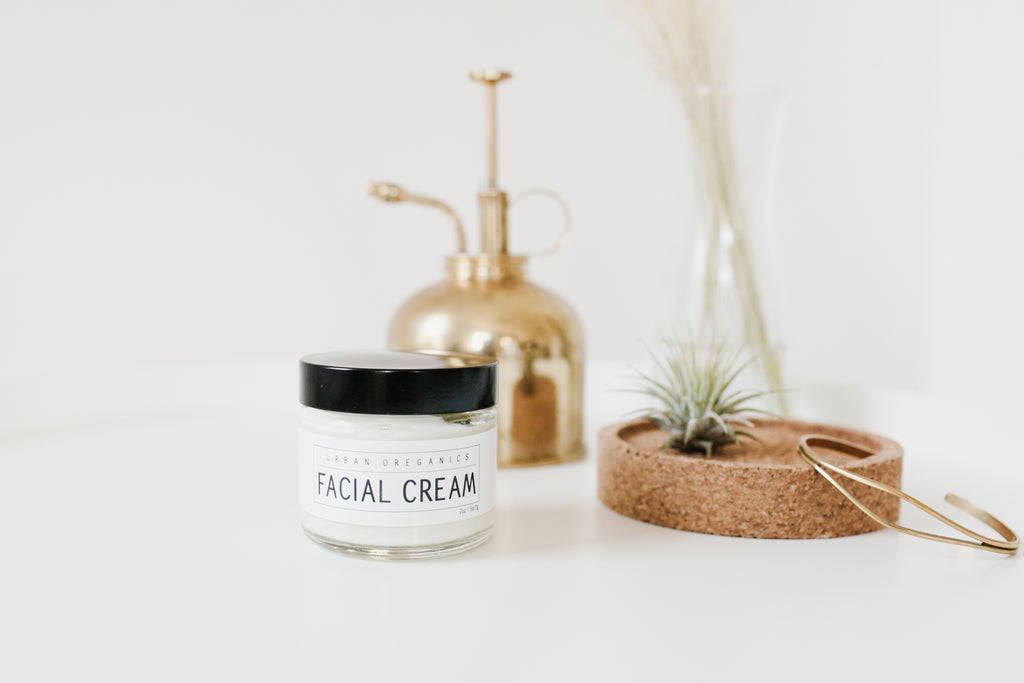 Facial Cream - Urban Oreganics - Botanical Apothecary - Natural Skin Care